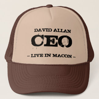 David Allan CEO Trucker Hat