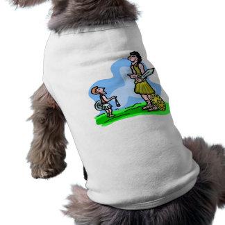 David and Goliath Christian artwork Shirt