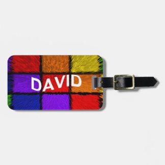 DAVID BAG TAG