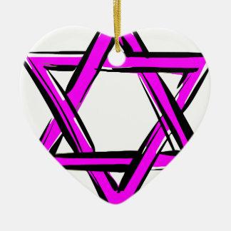 david ceramic ornament
