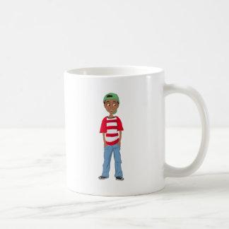 David Classic White Mug