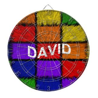 DAVID DARTBOARD