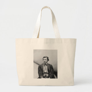 David E. Herold Lincoln Assassination Conspirator Large Tote Bag