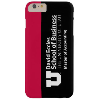 David Eccles - Master of Accounting Barely There iPhone 6 Plus Case