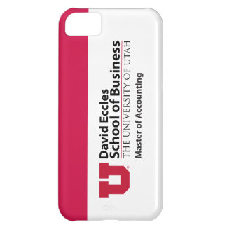 David Eccles - Master of Accounting Cover For iPhone 5C