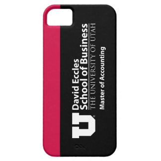 David Eccles - Master of Accounting iPhone 5 Cases