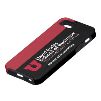 David Eccles - Master of Accounting iPhone 5 Covers