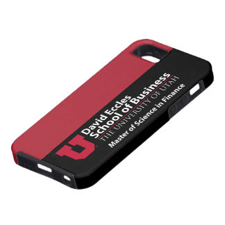 David Eccles - Master of Science in Finance iPhone 5 Case