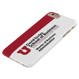 David Eccles - MBA Barely There iPhone 6 Plus Case