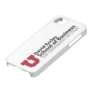 David Eccles School of Business iPhone 5 Covers