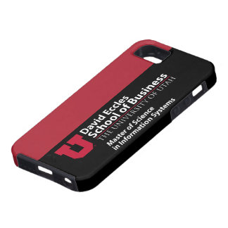 David Eccles School of Business - MSIS iPhone 5 Case