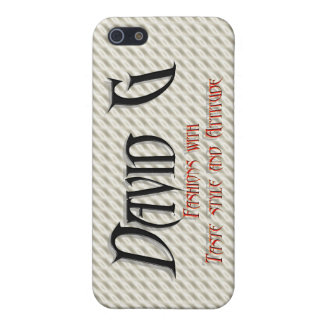 David G Logo iPhone 5/5S Covers