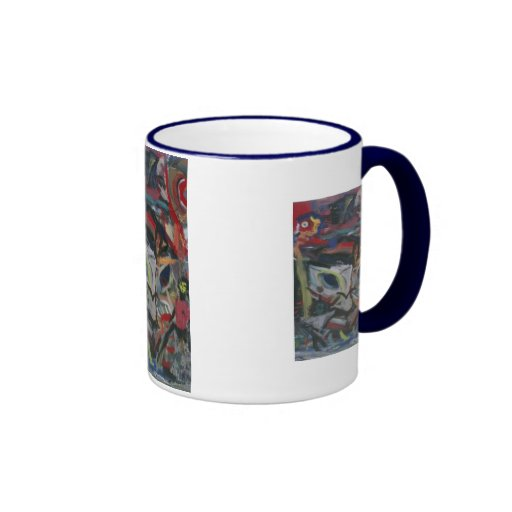 david hinds 2 coffee mugs