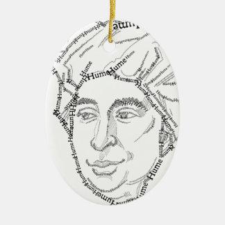 David Hume Christmas Ornament