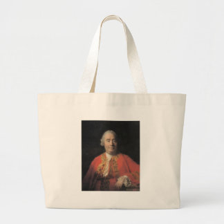 david hume large tote bag