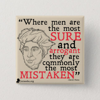 David Hume Quote Button