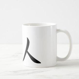 David In Japanese is Coffee Mug