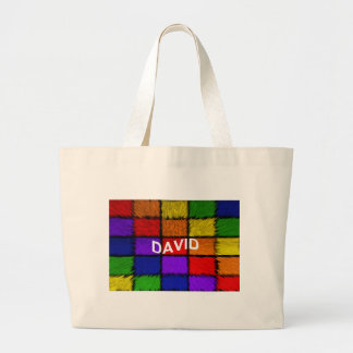 DAVID LARGE TOTE BAG