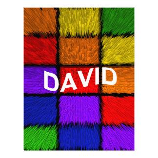 DAVID LETTERHEAD DESIGN
