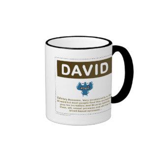 DAVID MUGS