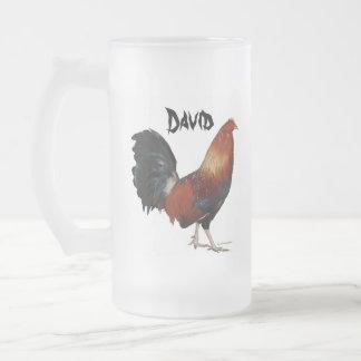 David Rooster Beer Mug