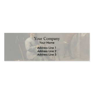 David Teniers the Younger- Smoker Business Cards