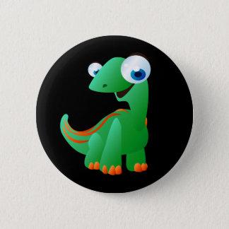 David The Dinosaur 2 Inch Round Button