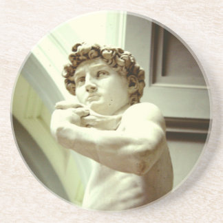 David - the eternal image of Florence Coaster