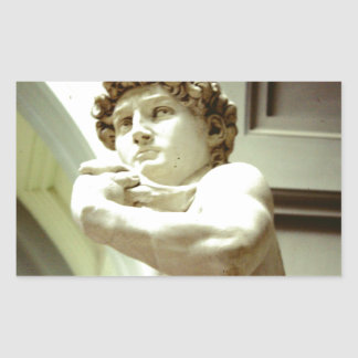 David - the eternal image of Florence Sticker