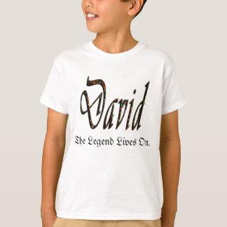 David, The Legend Lives On, T-Shirt