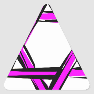 david triangle sticker