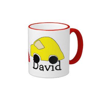 David's car mug