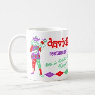 David's Restaurant, Bridgeport, Chicago, IL Coffee Mug