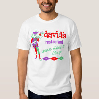 David's Restaurant, Bridgeport, Chicago, IL T Shirt