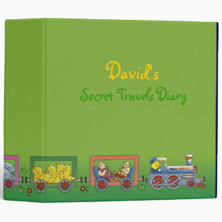 David's Secret Travels Diary - Binder