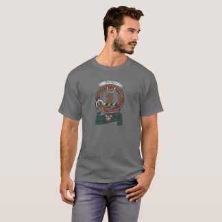 Davidson Clan Badge Adult Dark T-Shirt