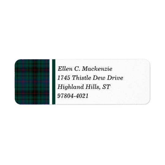 Davidson Clan Dark Green Scottish Tartan