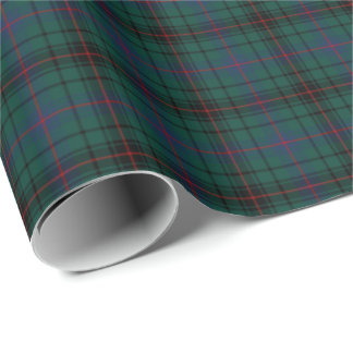 Davidson Clan Tartan Wrapping Paper