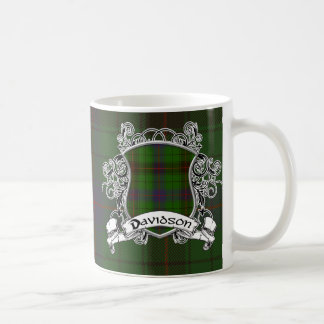 Davidson Tartan Shield Coffee Mug