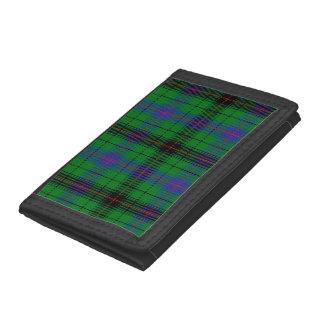 Davidson Tartan Tri-fold Wallet