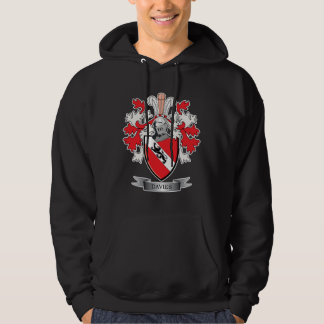 Davies Family Crest Coat of Arms Hoodie