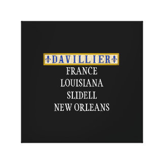 Davillier Ancestry Canvas Wall Art