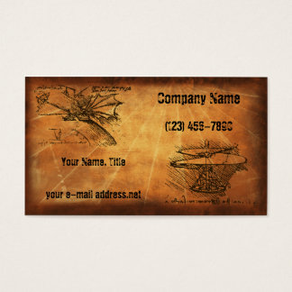 DaVinci Inventions, Business Card
