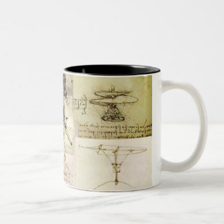 Davinci's Inventions Two-Tone Coffee Mug