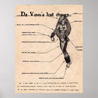 DaVinci's Lost Design Poster