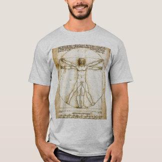 DaVinci's  Perfect Man T-Shirt
