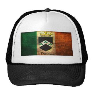 Davis Crest Irish Flag Trucker Hat