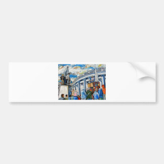 davis monument dame street dublin bumper sticker