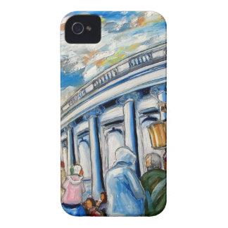 davis monument dame street dublin iPhone 4 Case-Mate case