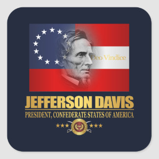 Davis (Southern Patriot) Square Sticker